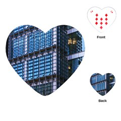Modern Business Architecture Playing Cards (heart)  by Simbadda