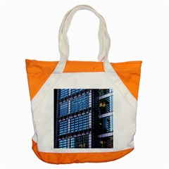 Modern Business Architecture Accent Tote Bag by Simbadda