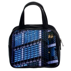 Modern Business Architecture Classic Handbags (2 Sides) by Simbadda
