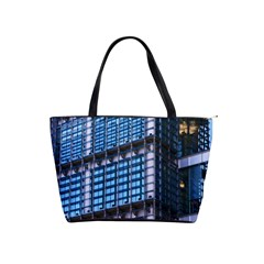 Modern Business Architecture Shoulder Handbags by Simbadda