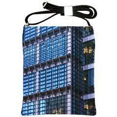 Modern Business Architecture Shoulder Sling Bags by Simbadda