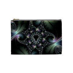 Magic Swirl Cosmetic Bag (medium)  by Simbadda