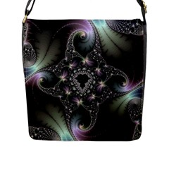 Magic Swirl Flap Messenger Bag (l)  by Simbadda