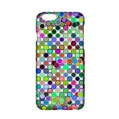Colorful Dots Balls On White Background Apple Iphone 6/6s Hardshell Case