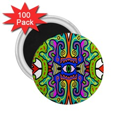 Abstract Shape Doodle Thing 2 25  Magnets (100 Pack)