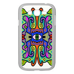 Abstract Shape Doodle Thing Samsung Galaxy Grand Duos I9082 Case (white) by Simbadda