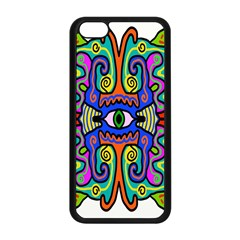 Abstract Shape Doodle Thing Apple Iphone 5c Seamless Case (black)