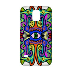 Abstract Shape Doodle Thing Samsung Galaxy S5 Hardshell Case  by Simbadda