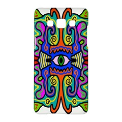 Abstract Shape Doodle Thing Samsung Galaxy A5 Hardshell Case