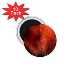 Background Technical Design With Orange Colors And Details 1 75  Magnets (10 Pack)  by Simbadda