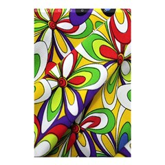 Colorful Textile Background Shower Curtain 48  X 72  (small)  by Simbadda