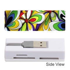 Colorful Textile Background Memory Card Reader (stick)  by Simbadda