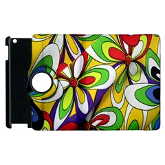 Colorful Textile Background Apple Ipad 3/4 Flip 360 Case
