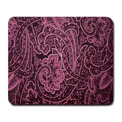 Abstract Purple Background Natural Motive Large Mousepads