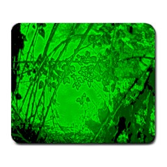 Leaf Outline Abstract Large Mousepads
