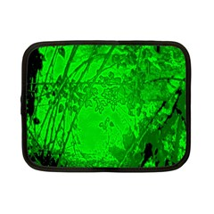 Leaf Outline Abstract Netbook Case (small)  by Simbadda