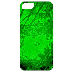 Leaf Outline Abstract Apple Iphone 5 Classic Hardshell Case by Simbadda