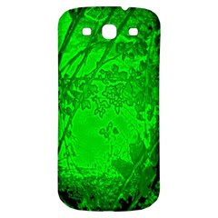 Leaf Outline Abstract Samsung Galaxy S3 S Iii Classic Hardshell Back Case by Simbadda