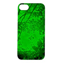Leaf Outline Abstract Apple Iphone 5s/ Se Hardshell Case by Simbadda