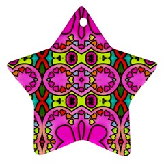 Colourful Abstract Background Design Pattern Ornament (star) by Simbadda