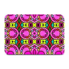 Colourful Abstract Background Design Pattern Plate Mats by Simbadda