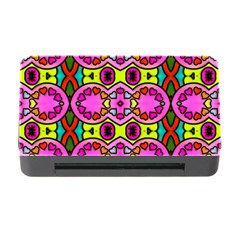 Colourful Abstract Background Design Pattern Memory Card Reader With Cf by Simbadda
