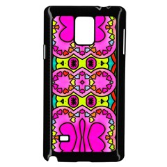 Colourful Abstract Background Design Pattern Samsung Galaxy Note 4 Case (black) by Simbadda