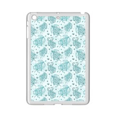 Decorative Floral Paisley Pattern Ipad Mini 2 Enamel Coated Cases by TastefulDesigns