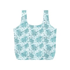 Decorative Floral Paisley Pattern Full Print Recycle Bags (s)  by TastefulDesigns