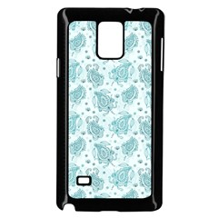 Decorative Floral Paisley Pattern Samsung Galaxy Note 4 Case (black) by TastefulDesigns
