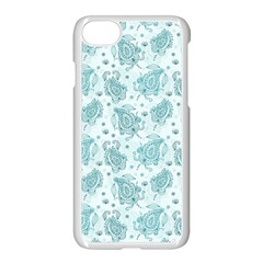 Decorative Floral Paisley Pattern Apple Iphone 7 Seamless Case (white) by TastefulDesigns
