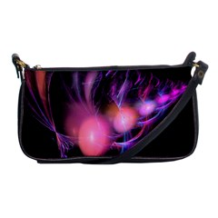Fractal Image Of Pink Balls Whooshing Into The Distance Shoulder Clutch Bags