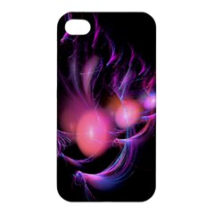 Fractal Image Of Pink Balls Whooshing Into The Distance Apple Iphone 4/4s Hardshell Case