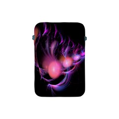 Fractal Image Of Pink Balls Whooshing Into The Distance Apple Ipad Mini Protective Soft Cases by Simbadda