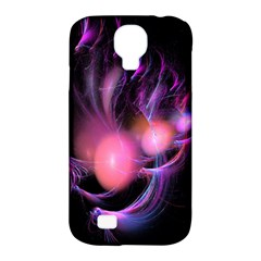 Fractal Image Of Pink Balls Whooshing Into The Distance Samsung Galaxy S4 Classic Hardshell Case (pc+silicone)