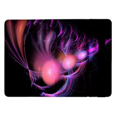 Fractal Image Of Pink Balls Whooshing Into The Distance Samsung Galaxy Tab Pro 12 2  Flip Case by Simbadda