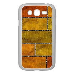 Classic Color Bricks Gradient Wall Samsung Galaxy Grand Duos I9082 Case (white) by Simbadda