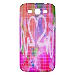 Watercolour Heartbeat Monitor Samsung Galaxy Mega 5 8 I9152 Hardshell Case  by Simbadda
