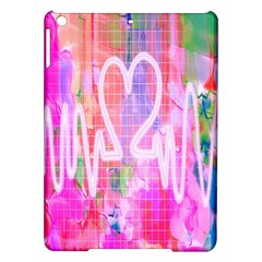 Watercolour Heartbeat Monitor Ipad Air Hardshell Cases