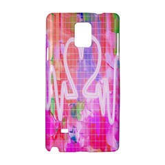 Watercolour Heartbeat Monitor Samsung Galaxy Note 4 Hardshell Case