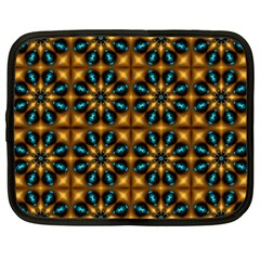 Abstract Daisies Netbook Case (xxl)  by Simbadda