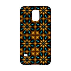 Abstract Daisies Samsung Galaxy S5 Hardshell Case  by Simbadda