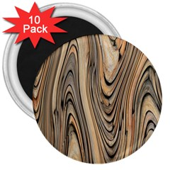 Abstract Background Design 3  Magnets (10 Pack)