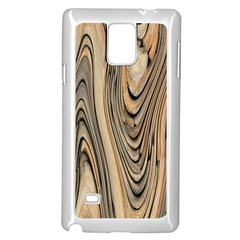 Abstract Background Design Samsung Galaxy Note 4 Case (white)