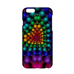 Mirror Fractal Balls On Black Background Apple Iphone 6/6s Hardshell Case by Simbadda