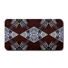 Ladder Against Wall Abstract Alternative Version Medium Bar Mats by Simbadda