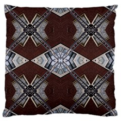Ladder Against Wall Abstract Alternative Version Large Cushion Case (two Sides) by Simbadda