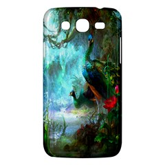 Beautiful Peacock Colorful Samsung Galaxy Mega 5 8 I9152 Hardshell Case  by Simbadda
