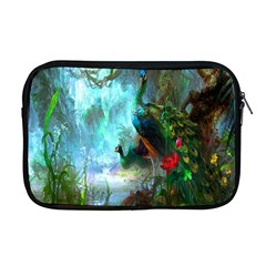 Beautiful Peacock Colorful Apple Macbook Pro 17  Zipper Case