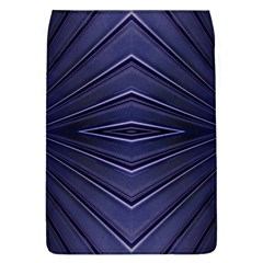 Blue Metal Abstract Alternative Version Flap Covers (l)  by Simbadda